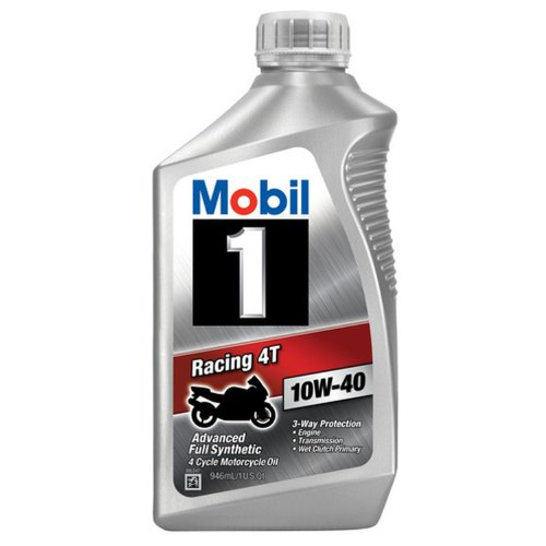 Mobil 1 (103436) Motor Oil - 1 Quart (Mobil 1 10w40 Motorcycle Oil compare prices)