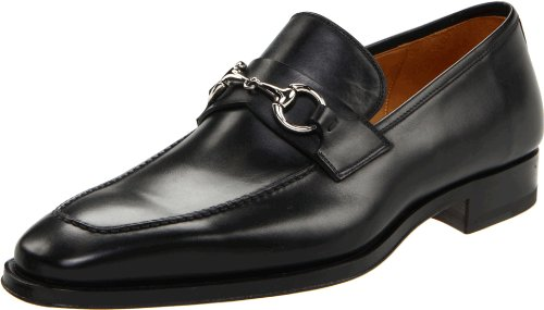Magnanni Men's Ruzo Slip-On, Black,10 M US