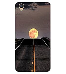ColourCraft Beautiful Scenery Design Back Case Cover for OPPO R9
