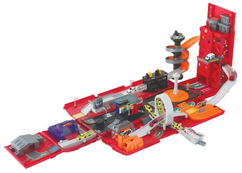 Motormax Take Along Fire Station Playset