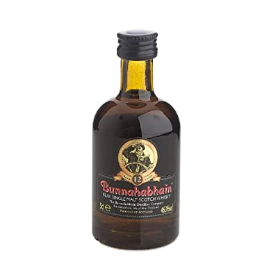 Bunnahabhain 12 year old Single Malt Scotch Whisky 5cl Miniature by Bunnahabhain