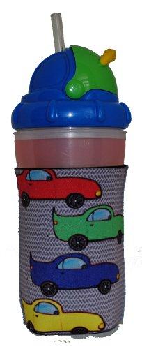 Kidzies Huggerz, Child'S Drink Sippy Cup Bottle Insulator, V'Room Design front-666511