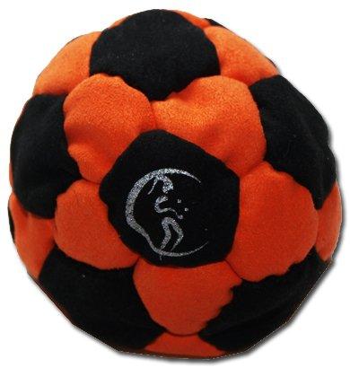 pro-footbag-aka-hacky-sack-freestyle-32-panneaux-noir-orange-parfait-pour-les-stands-et-les-retards-