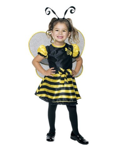 Bumble Bee Toddler Costume 2T - Toddler Halloween Costume