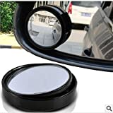 Hot Sale Small round mirror car rearview mirror blind spot wide-angle lens 360 degree rotation Adjustable angle Car Accessories