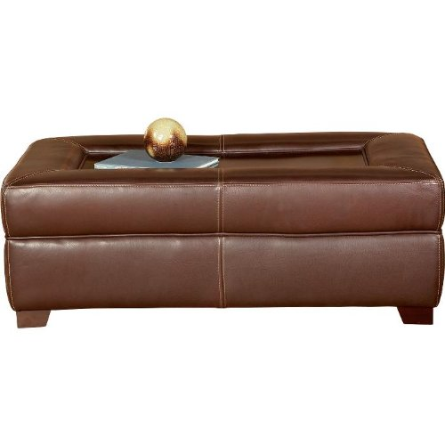 Amazon.com - Cindy Crawford Home Chastain 100% Leather Cocktail