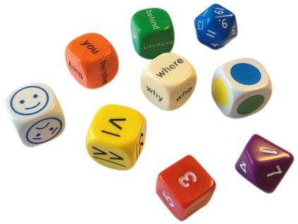 Dice - Dice Pack (Mini Flashcards Language Games)