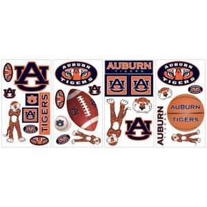 Auburn Tigers Wall Decals - 28 Decals at Amazon.com