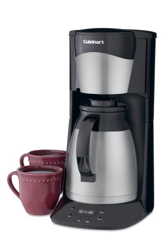 Cuisinart DTC-975BKN Programmable Automatic Brew-and-Serve 12-Cup Thermal Coffeemaker, Black