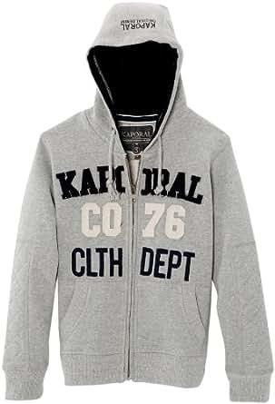 Kaporal - Sweat-shirt à capuche - garçon - gris (grey mel) - 12