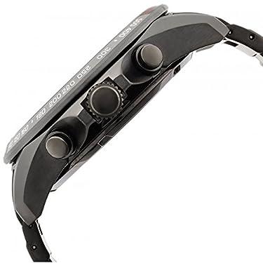 Seiko Astron Solar GPS Black PVD Stainless Steel Men's Watch SSE031