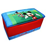 Disney Mickey Mouse Club House Upholstered Toy Box
