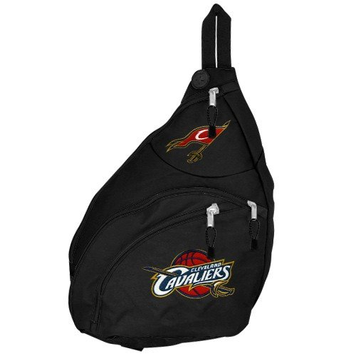 Nba Cleveland Cavaliers Black Slingshot Backpack