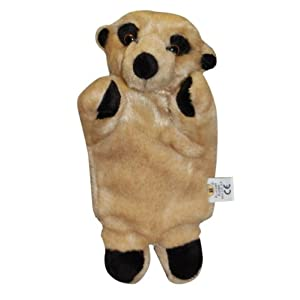 Alexander the Meerkat Soft Toy Hand Puppet - 19620