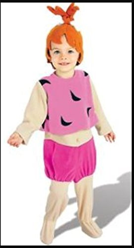 Rubies Girls 'Pebbles' Child Costume, Pink/Orange, M