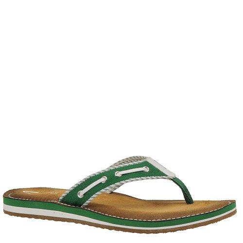 Clarks Women'S Flo Cherrymore Green Sandal 8 B - Medium front-1088565