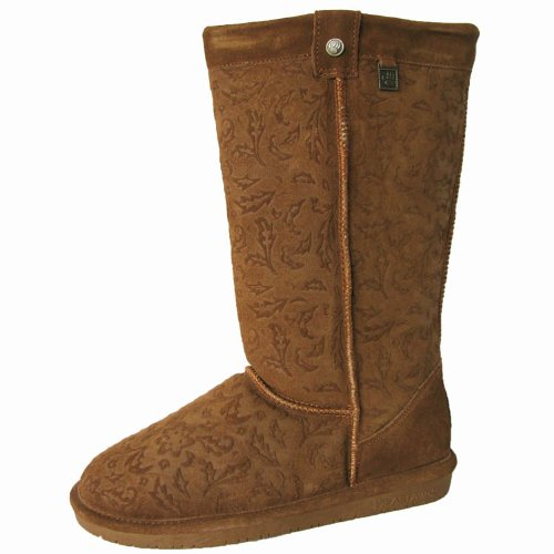 BEARPAW Women's Brandy II Snow Boot,Hickory,8 M US