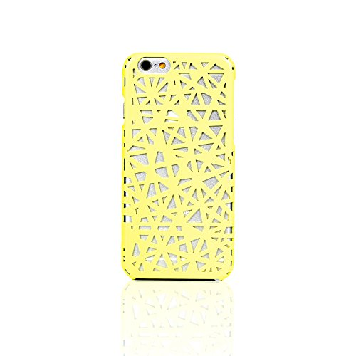 iPhone 6/6s Plus Case, WaKase® [ Nest ] Creamy Yellow, Hard Armor iPhone 6/6s Plus Cover Skin Shock Absorption Protective Slim Shell Anti-scratch Carrying Case for Apple iPhone 6/6s Plus 5.5 inch (Protective Skins Iphone 6 Plus compare prices)