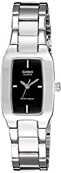 Casio Enticer Analog Black Dial Womens Watch - LTP-1165A-1CDF (SH18)