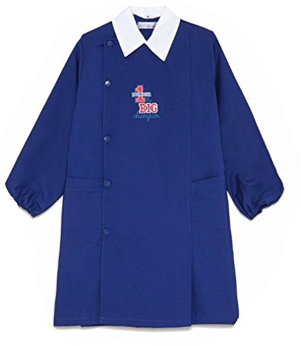grembiule scuola blu maschio ambrosino