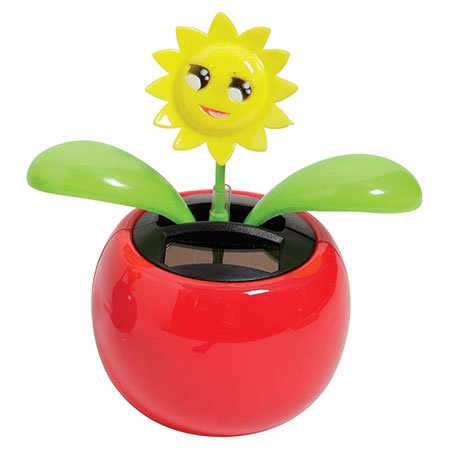 One Solar Powered Dancing Sunflower - 1