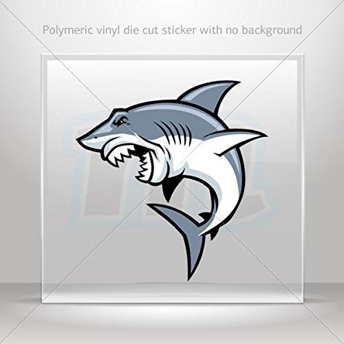 Sticker Decal Shark Attack Car Door Hobbies Waterproof Racing Durable Racing Motorbike 0500 X38Xx front-374511