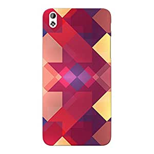 Mobile Back Cover For HTC Desire 816G (Printed Designer Case)