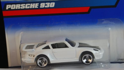 Hot Wheels 2000 White Porsche 930 Collector #125