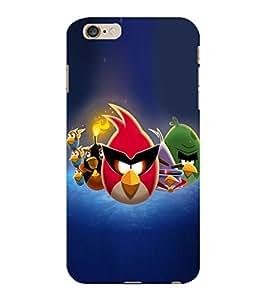 ColourCraft Amazing Birds Design Back Case Cover for APPLE IPHONE 6S PLUS