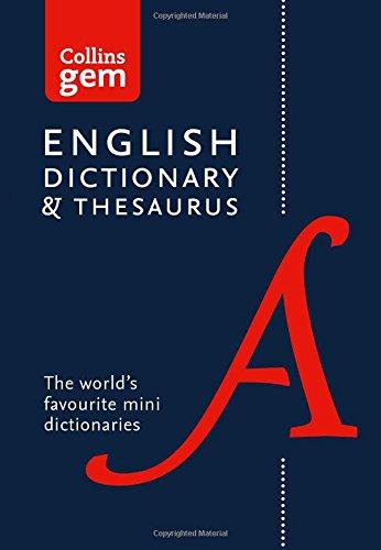 Collins Gem. English Dictionary & Thesaurus