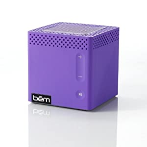 Bem HL2022E Bluetooth Mobile Speaker for Smartphones – Retail Packaging – Purple