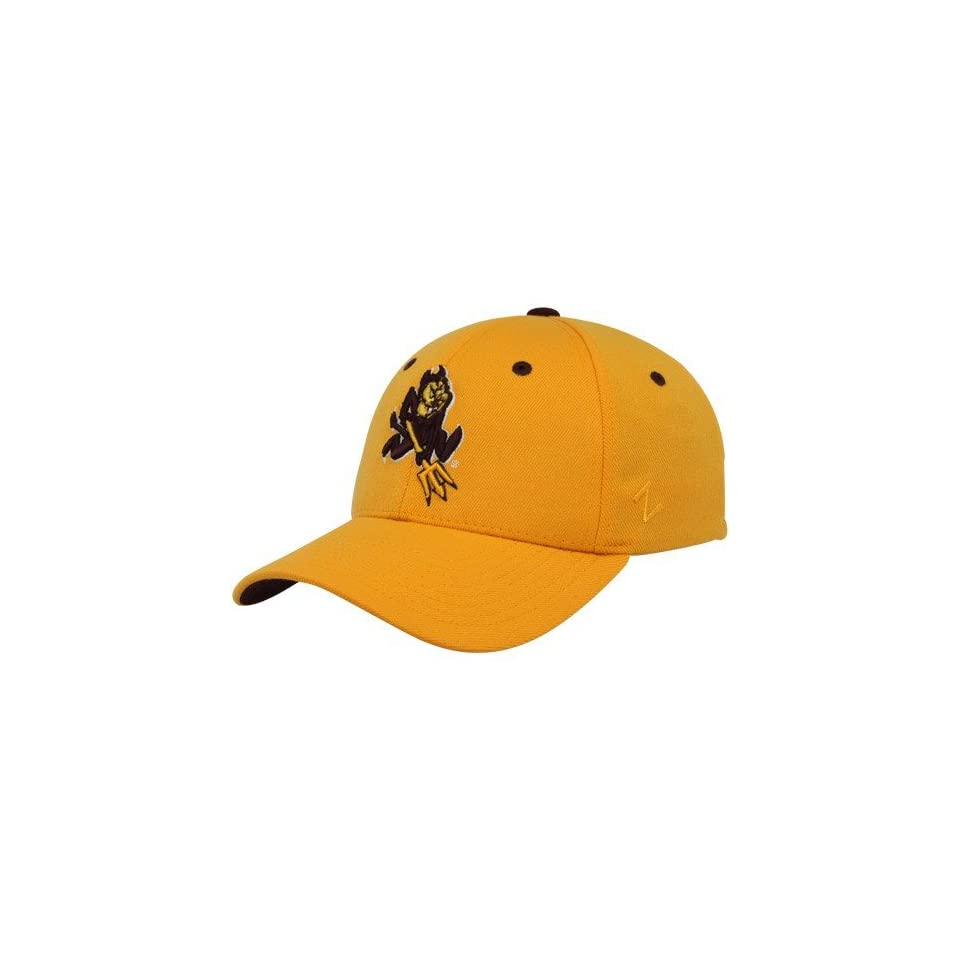 f2acdbb4838 Zephyr Arizona State Sun Devils Gold Z Fit Hat (Small on PopScreen