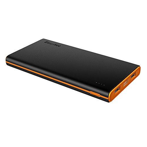 EasyAcc-10000-BO-Batteria-esterna-portatile-10000mAh-per-iPhone-Samsung-Smartphones-Tablets-NeroArancione