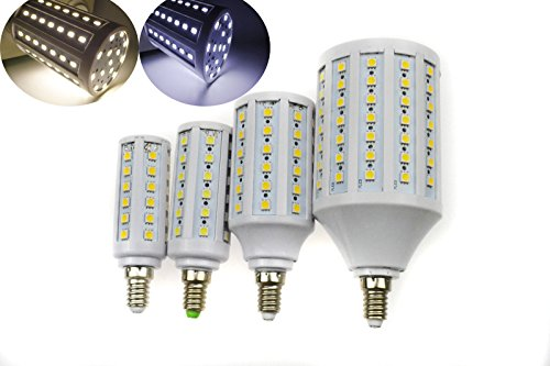 Super Bargain!!! New Model!! E14 6W 8W 12W 18W Dimmable Smd White Led Corn Light Bulb Lamp Energy Saving C In Home