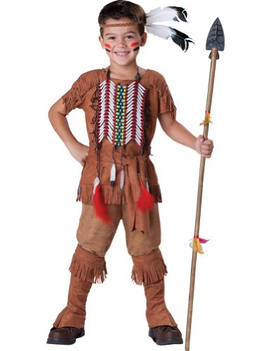 Indian Brave Boys Costume 6 Kids Boys Costume