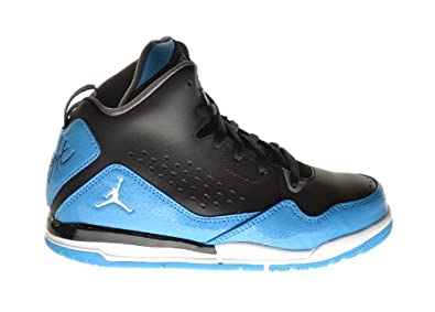 Buy Jordan SC-3 (BP) Little Kids Basketball Shoes Black White-Dark Powder Blue-Cool Grey... by Jordan