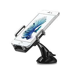 G-Cord® Universal Car Vent Mount for iPhone Samsung Galaxy and Other Smartphones (360 Degree Swivel)