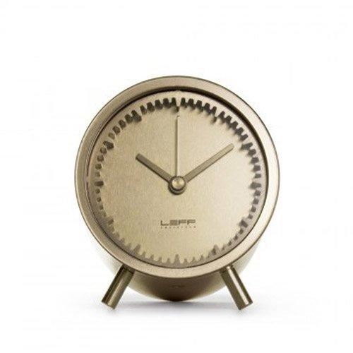 LEFF amsterdam - Tube Clock Tischuhr - Messing - Piet Hein Eek - Design - Uhr