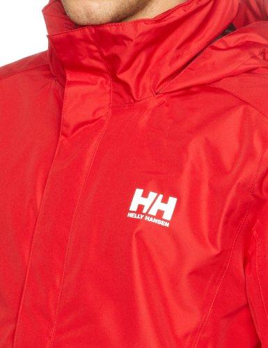 Helly Hansen Herren Regenjacke Dubliner, Red, XL, 55851 -