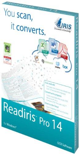 IRIS Readiris Pro 14 OCR Software for PC