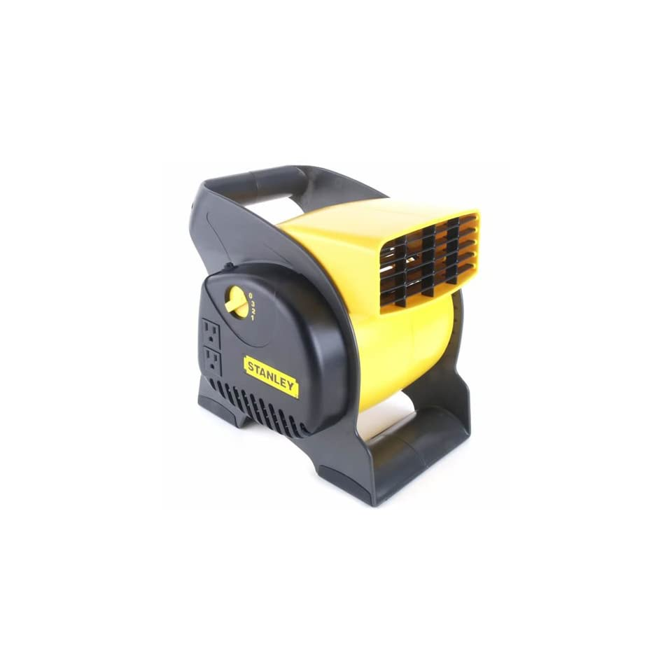 Stanley Multipurpose Pivoting Blower Fan   Built In Household Ventilation Fans