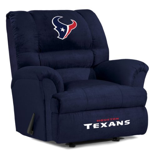 NFL Houston Texans Big Daddy Microfiber Recliner