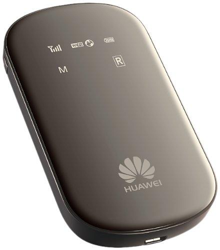 Huawei  E586 モバイル WIFI ルーター下り最大21Mbps Mobile WiFi (SIM フリー 版) (Black)