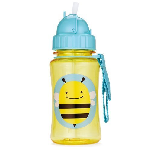 Skip Hop Drinking Bottle With Straw Spout Zoo Bee By Skip Hop