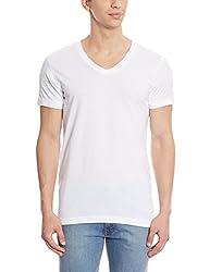 Jockey Mens Cotton T-Shirt (8901326083116_IC26-0105-WHITE White XL)