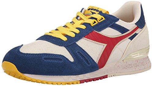 Diadora Men's Titan Speckled Fashion Running Shoe, Beige, 10 M US