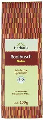 Herbaria Rooibusch Natur , 1er Pack (1 x 100 g Tüte) - Bio von Herbaria bei Gewürze Shop