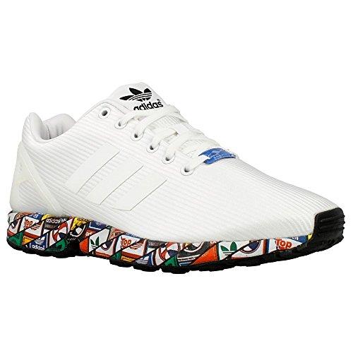 adidas ZX Flux - Zapatillas para hombre, color blanco /...