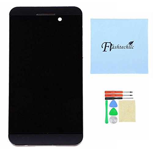 Black Front Lcd Touch Screen Digitizer + Frame Full Assembly For Blackberry Torch Z10