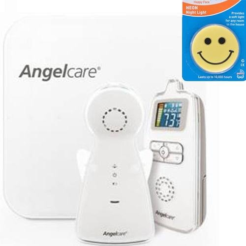Angelcare Ac403 - Movement And Sound Monitor With Night Light front-55685
